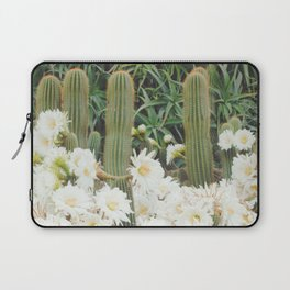 Cactus and Flowers Laptop Sleeve