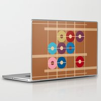 dale cooper Laptop & iPad Skins featuring Cooper Alchemy by Ramon J Butler-Martinez