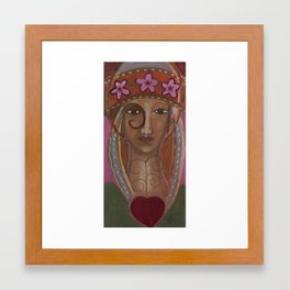 Our Lady of the Mystery Framed Art Print