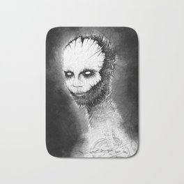 Mask in the Shadows Bath Mat