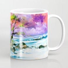 Evening on the beach Mug