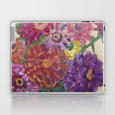 Zinnias Laptop & iPad Skin