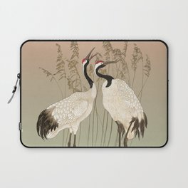 Cranes at Sunset Laptop Sleeve