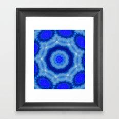 Beyound Blue Framed Art Print