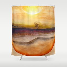 LoneTree 03 Shower Curtain
