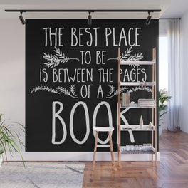 Between the Pages (inverted) Wall Mural