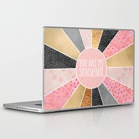 you are my sunshine Laptop & iPad Skins featuring You are my sunshine by Elisabeth Fredriksson