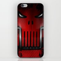 punisher iPhone & iPod Skins featuring The Punisher by Kosept