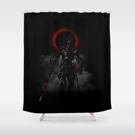 Soul of Cinder Shower Curtain