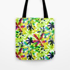 Colorful Field Tote Bag