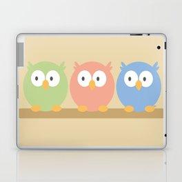 three owls Laptop & iPad Skin