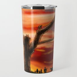 Dead Tree - Color Travel Mug