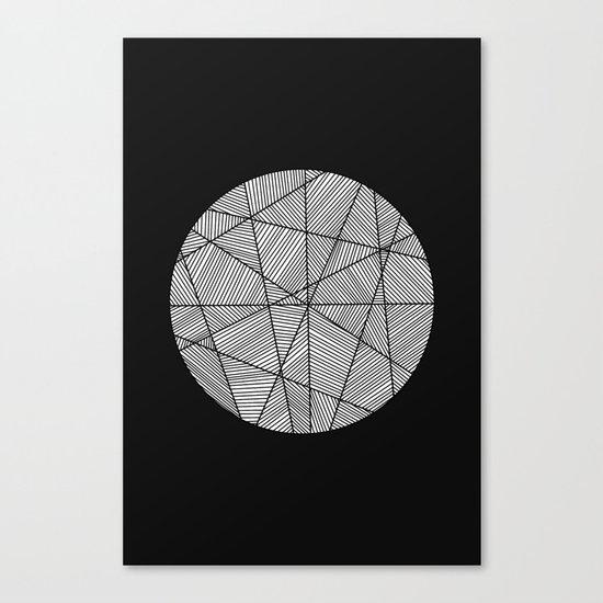 Circular Canvas Print