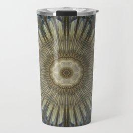 Stay cool floral mandala Travel Mug