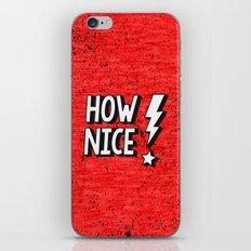 How Nice iPhone & iPod Skin
