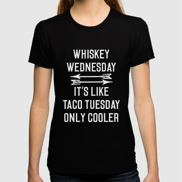 Whiskey Wednesday Funny Graphic T-Shirt T-shirt