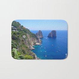 Isle of Capri Coastline Bath Mat