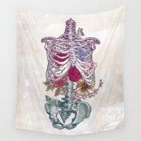 la Wall Tapestries featuring La Vita Nuova (The New Life) by Rachel Caldwell
