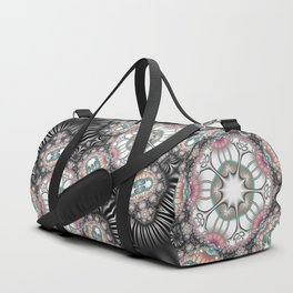 Abstract with controversial colors Duffle Bag