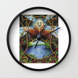 A Ledges Moon... Wall Clock
