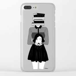 Disconnection Clear iPhone Case
