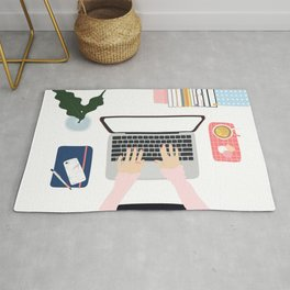 Once upon a daydream - new home office -  Rug