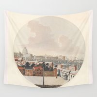 rome Wall Tapestries featuring Rome by anipani