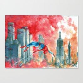 Dawn in NY Canvas Print