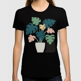 Cat and Plant 21: Leaf Me Alone T-shirt