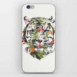 Tropical tiger iPhone Skin