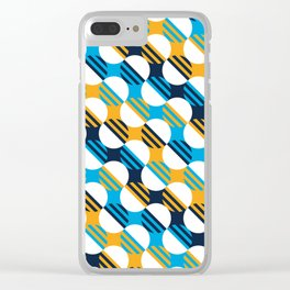 People's Flag of Milwaukee Mod Pattern Clear iPhone Case