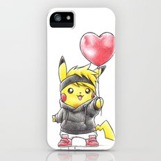 iHeart Birdychu iPhone (5, 5s) Slim Case