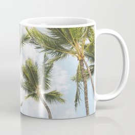 Palm Tree Print Kaffeebecher