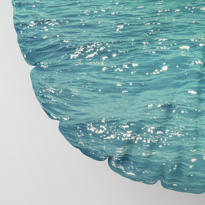 Sea is Always in your Mind Floor Pillow