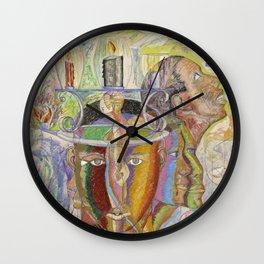 Language of Life Wall Clock