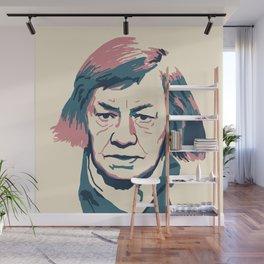 Patricia Highsmith Wall Mural