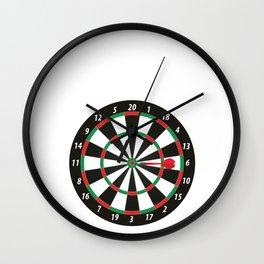 Darts Darting Machine Funny Darts Lover Wall Clock