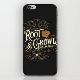 Grab a Root & Growl iPhone Skin