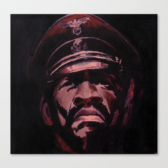 Black Gestapo Canvas Print