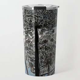 Queen Anne's Lace from a bug's view Travel Mug
