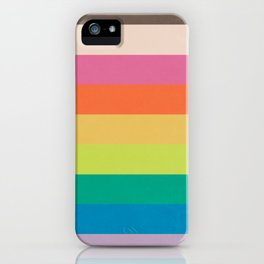 Autumn Rainbow iPhone Case