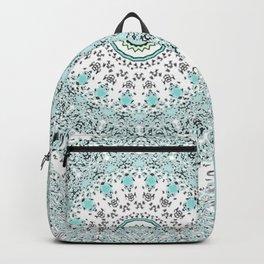 Mandala - Boho - Sacred Geometry - Pastels - Backpack