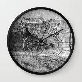 Italian Pram Wall Clock