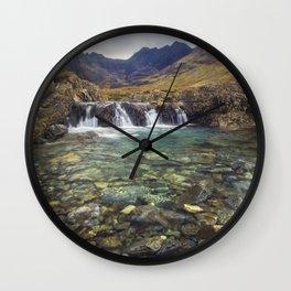 Fairy Pools, Isle of Skye Wall Clock