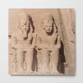 Abu Simbel 003 Metal Print