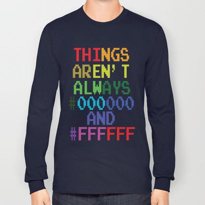 Funny Computer Gamer Programmer Geek Nerd Science Tee Tshirt Long