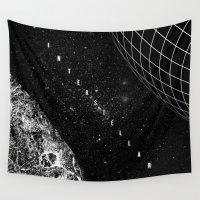 interstellar Wall Tapestries featuring Interstellar by Amanda Mocci