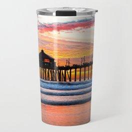 HB SUNSETS  Monsoon Skies Travel Mug