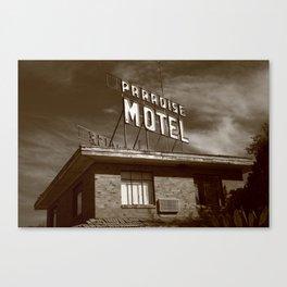 Route 66 - Paradise Motel 2008 Canvas Print