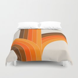 Bounce - Golden Duvet Cover